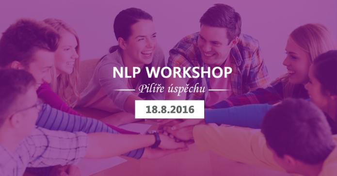 "NLP workshop ""pilíře úspěchu"""