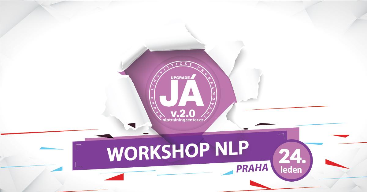 Workshop NLP aneb to nejlepší, co pro sebe můžete v roce 2017 udělat